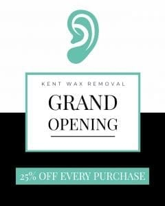 Kent Wax Removal Grand Opening